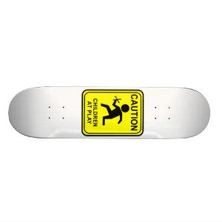 Advirta crianças no jogo - funcionando com tesoura shape de skate 20cm