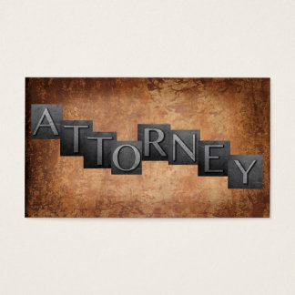 Advogado Cartão De Visitas