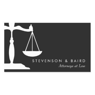 Cartões de visita para advogados
