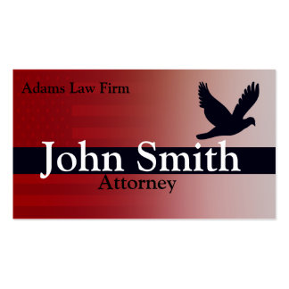 Advogado e advogado cartão de visita