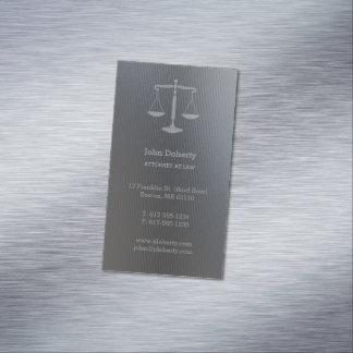 Advogado em escalas de prata perfeitas da lei | de