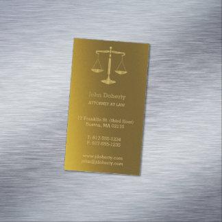 Advogado em escalas douradas perfeitas da lei | de