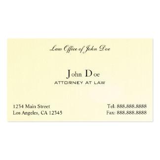 Advogado limpo - escritório de advogados cartão de visita