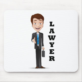 """""""Advogado """" Mouse Pad"""