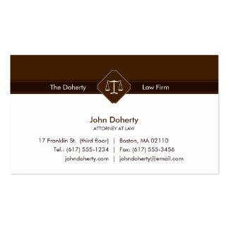 ADVOGADO no escritório de advogados da LEI | Cartão De Visita