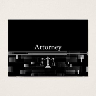 Advogado profissional cartão de visita grande
