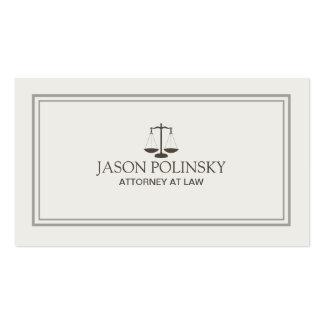Advogado profissional e moderno cartão de visita