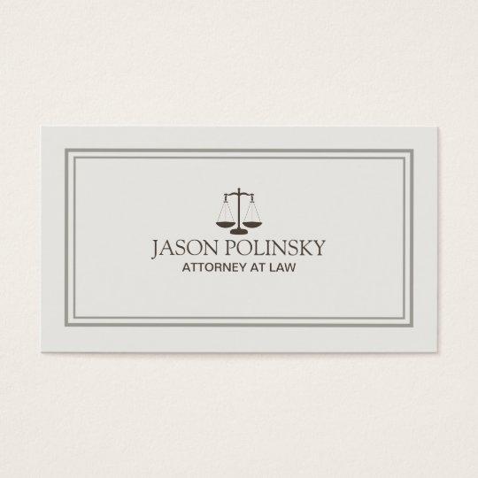 Advogado profissional e moderno cartão de visitas