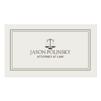 Advogado profissional e moderno cartões de visitas