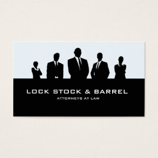 Advogados na lei cartão de visitas