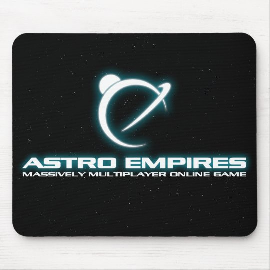 AE logo starfield mouse pad
