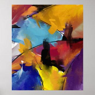 """Afixar pequeno modelo """"Abstract 1412 """" Poster"""