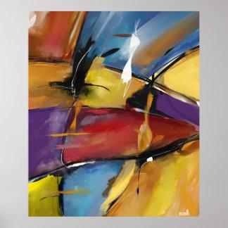 """Afixar vertical extra grande modelo """"Abstract 1509 Poster"""