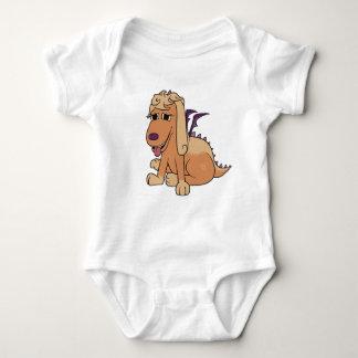 Afortunado o filhote de cachorro do dragão tshirts