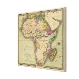 África 32 impressão em canvas