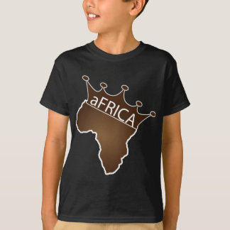 África coroou camisetas