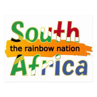 África do Sul - a nação do arco-íris Cartao Postal