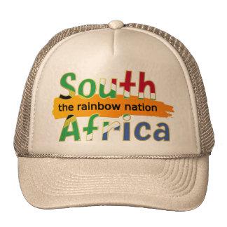 África do Sul - a nação do arco-íris Boné