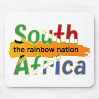 África do Sul: a nação do arco-íris Mouse Pad