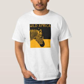África Selvagem Camiseta