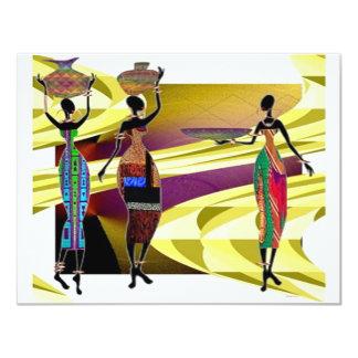 Africano Festiva Convites Personalizados