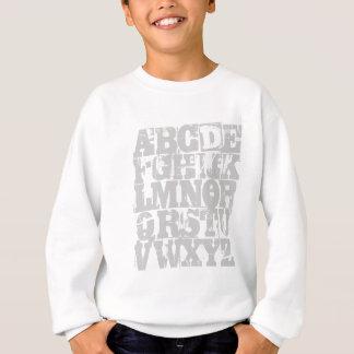 Agasalho Camisola de ABC - o alfabeto