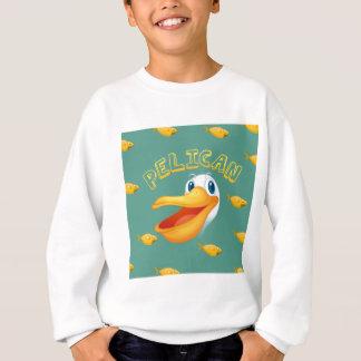 Agasalho Cara e peixes do pelicano