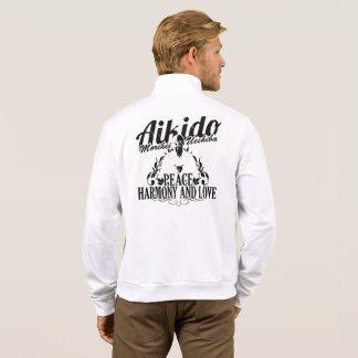Agasalho com Kanji Aikido e Logo nas costas
