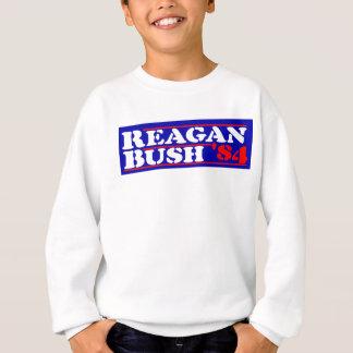 Agasalho Estêncil de Reagan Bush '84