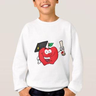 Agasalho Formando do caráter de Apple que guardara um