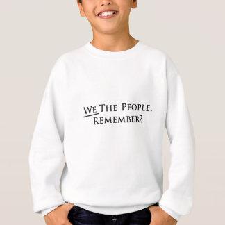 Agasalho Nós as pessoas. Recorde?