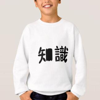 Agasalho Símbolo chinês para o conhecimento