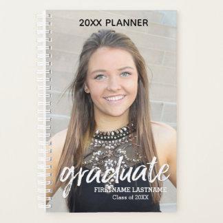 Agenda Roteiro graduado - classe de nome do ano com foto