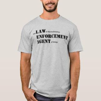 Agente da entropia (luz) tshirts