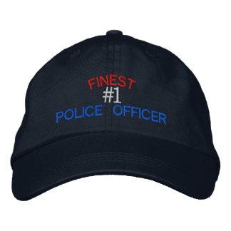 Agente da polícia bone