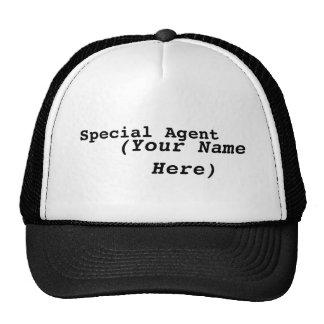 Agente especial boné