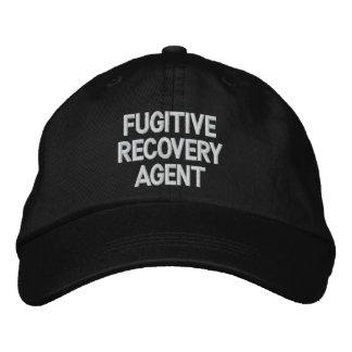 Agente fugitivo da recuperação boné
