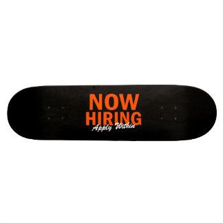 Agora contratando aplique dentro shape de skate 18,1cm