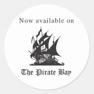 Agora disponível na baía do pirata adesivo
