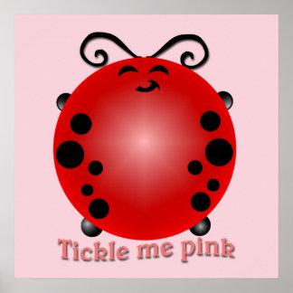 Agrade-me cor-de-rosa pôster