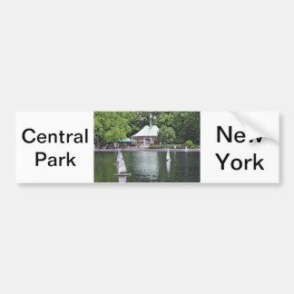 Água central do conservatório do parque adesivo para carro