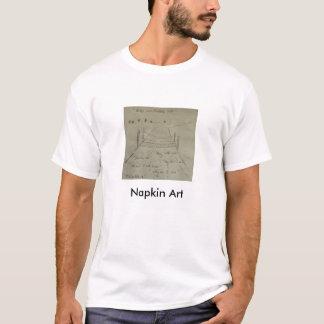 Água incomodada t-shirt