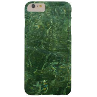 Água sobre a foto (azul e verde) da grama II do Capa Barely There Para iPhone 6 Plus