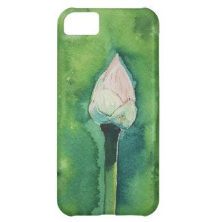 Aguarela de Lotus Capa Para iPhone 5C