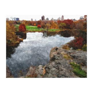 Aguarela do Central Park