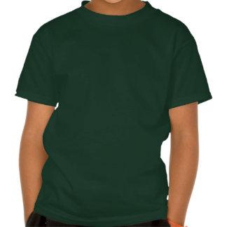 Aguarela geométrica das listras tshirt