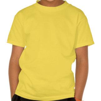 Aguarela geométrica do ziguezague t-shirt