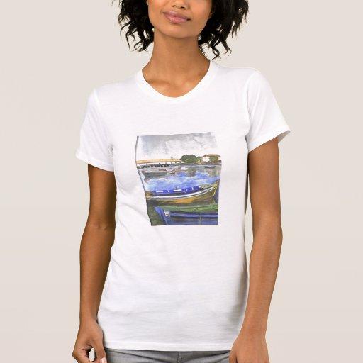 Aguarela, paisagem do Barreiro T-shirts