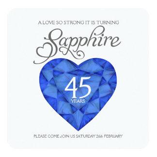 Aguarela tão forte do coração do amor do casamento convite quadrado 13.35 x 13.35cm