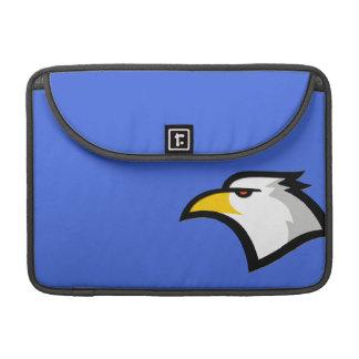 Águia americana em azuis marinhos bolsa para MacBook pro